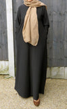 Textured Abaya/Maxi Dress CA- 1020