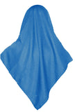 SHIMMER SCARF /HIJAB- TEAL BLUE SQ.