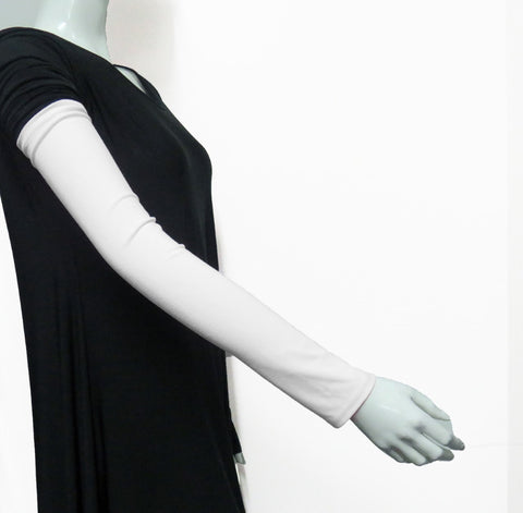 Extra Long Arm Cover/Sleeves -White