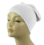 Half Tube Bonnets - White