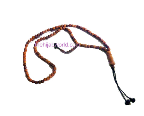WOODEN TASBIH WI- NATURAL