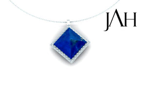 Ashar Stone and Diamond Pendant