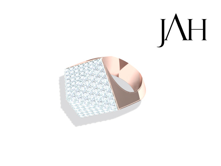 Ajani Mens Diamond Ring