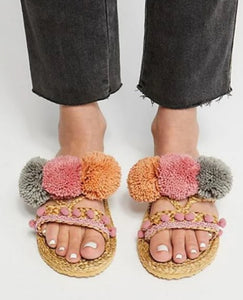 Pom Pom Perfect Sandal