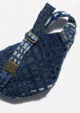 Load image into Gallery viewer, Indigo Patchwork Belt Bag