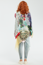 Load image into Gallery viewer, Open Colorful Print Kimono