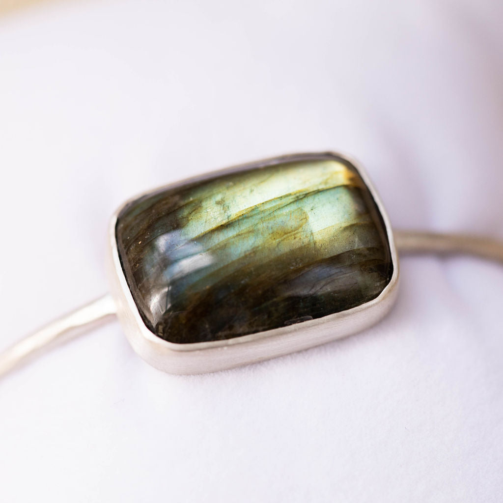 One-Of-A-Kind:  Labradorite Cuff