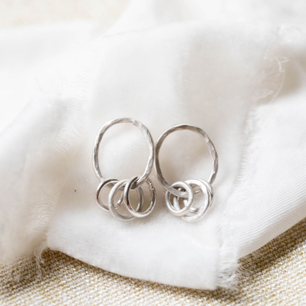 Tiny Orbit Earrings