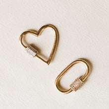 Load image into Gallery viewer, Naomi Eloise: Diamond Carabiner