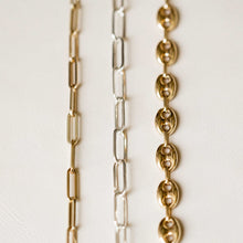 Load image into Gallery viewer, Naomi Eloise:  14k Gold Paperclip Chain Necklace