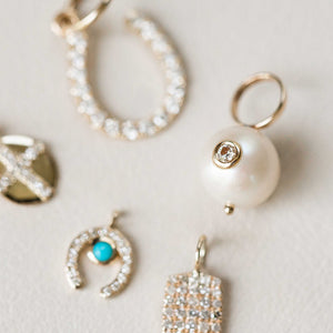 Naomi Eloise: 14k Gold Diamond Charms