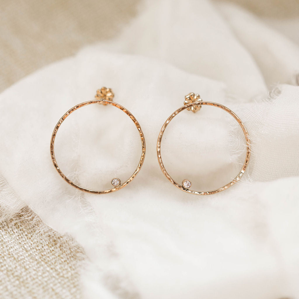Luxe- Halo Post Earring