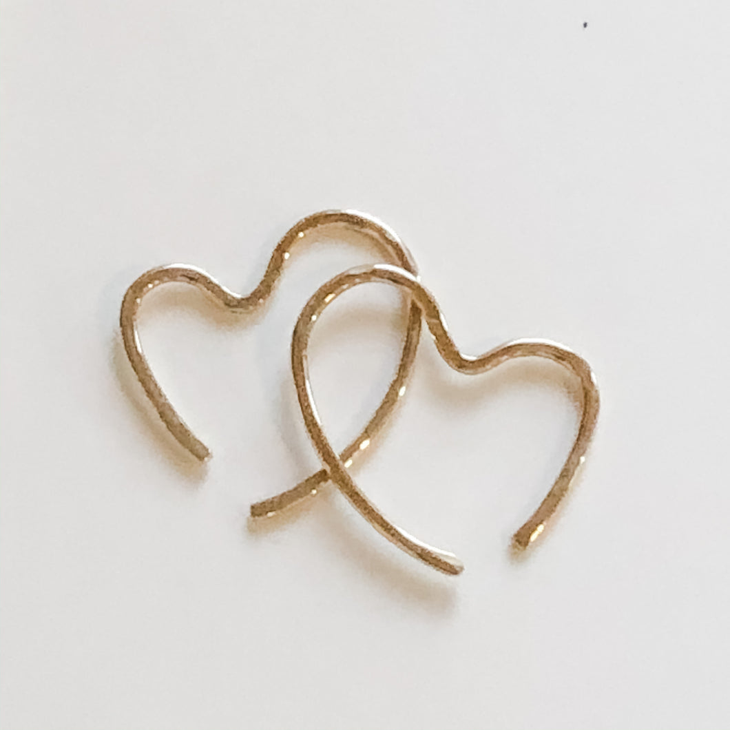 Luxe Tiny Heart Earring