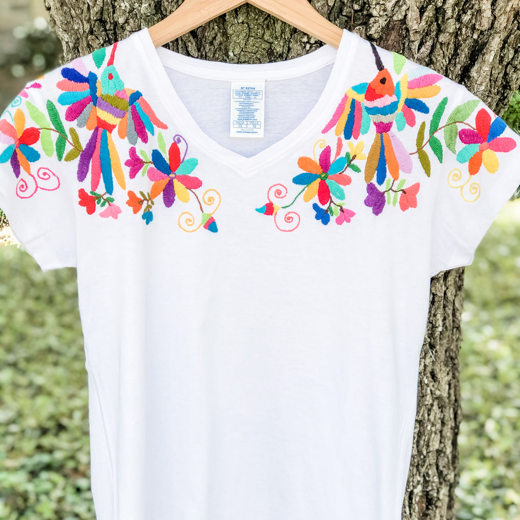 Lifestyle:  Otomi Embroidered T-Shirt
