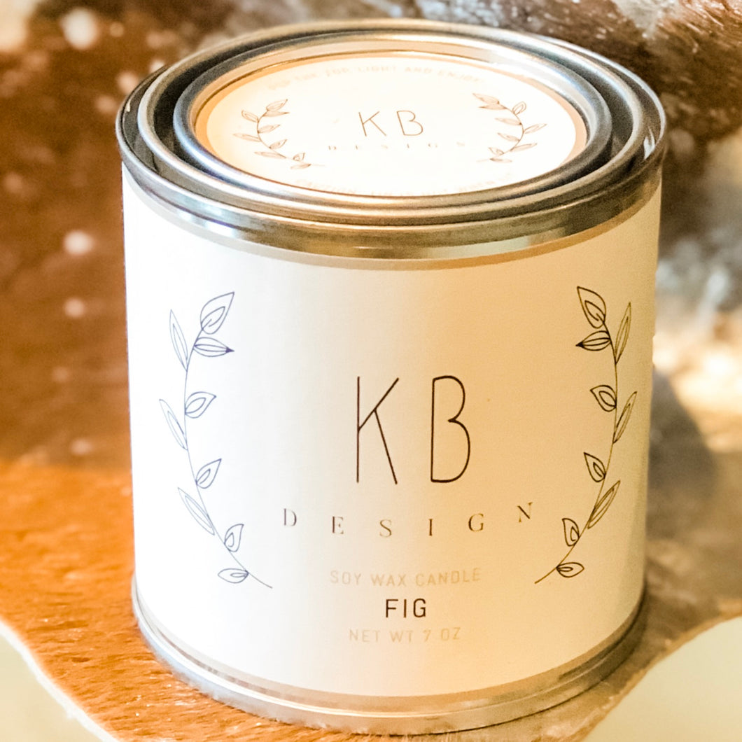 Lifestyle: KB Design Candle