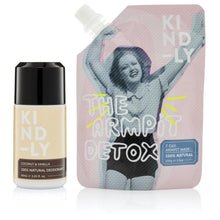 Load image into Gallery viewer, KIND-LY 100% Natural Deodorant Coconut & Vanilla & The Armpit Detox