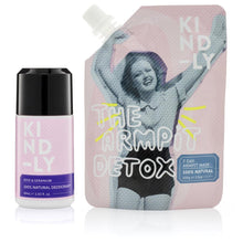Load image into Gallery viewer, KIND-LY 100% Natural Deodorant Rose & Geranium & The Armpit Detox