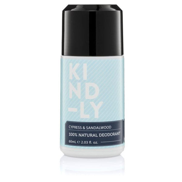 KIND-LY 100% Natural Deodorant Cypress & Sandalwood
