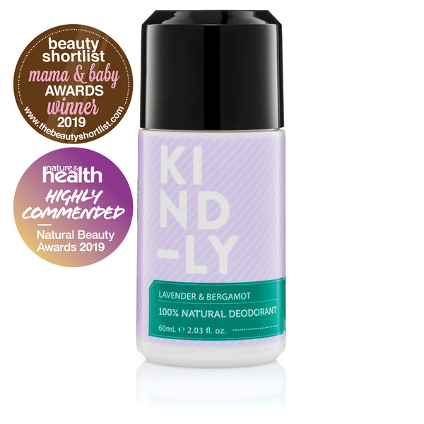 KIND-LY Lavender & Bergamot 100% Natural Deodorant
