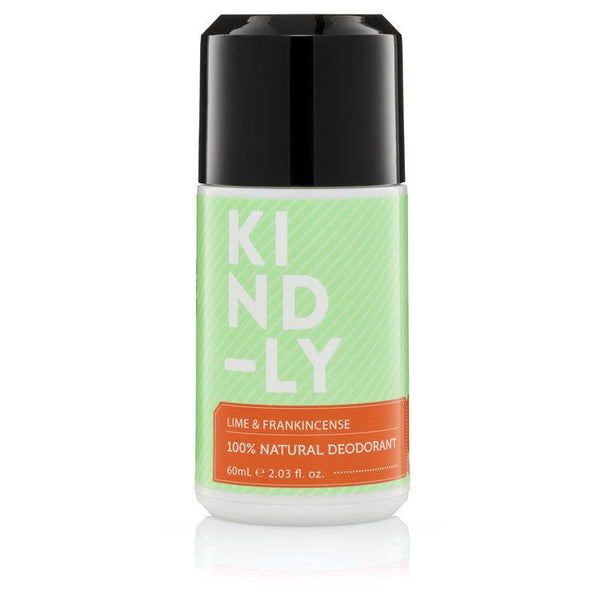 KIND-LY Lime & Frankincense 100% Natural Deodorant