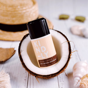 KIND-LY Coconut & Vanilla 100% Natural Deodorant