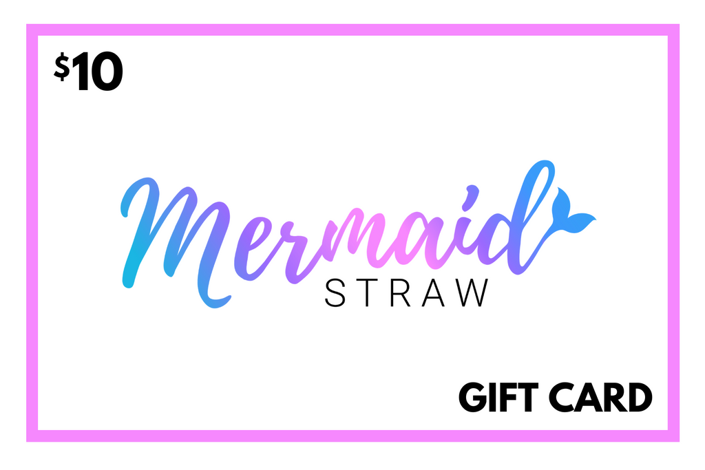Gift Card - Mermaid Straw