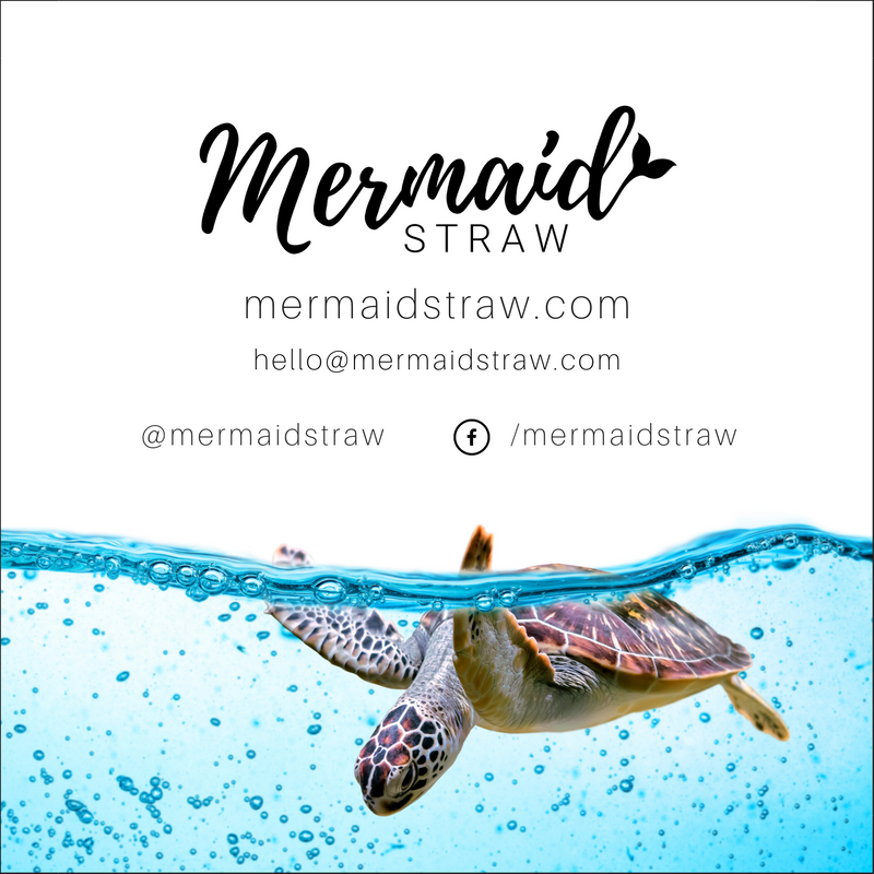 Awareness Cards (Pack of 25) - Mermaid Straw