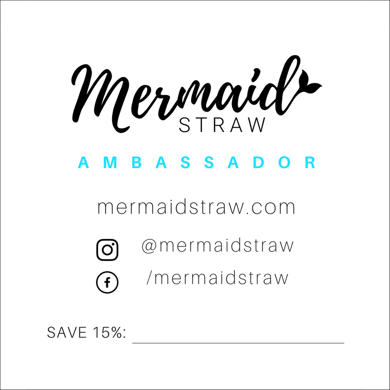 Ambassador Cards (Pack of 20) - Mermaid Straw