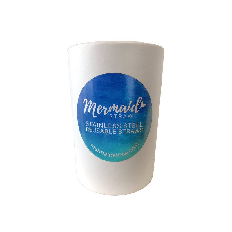 Wholesale Display Cup - Mermaid Straw