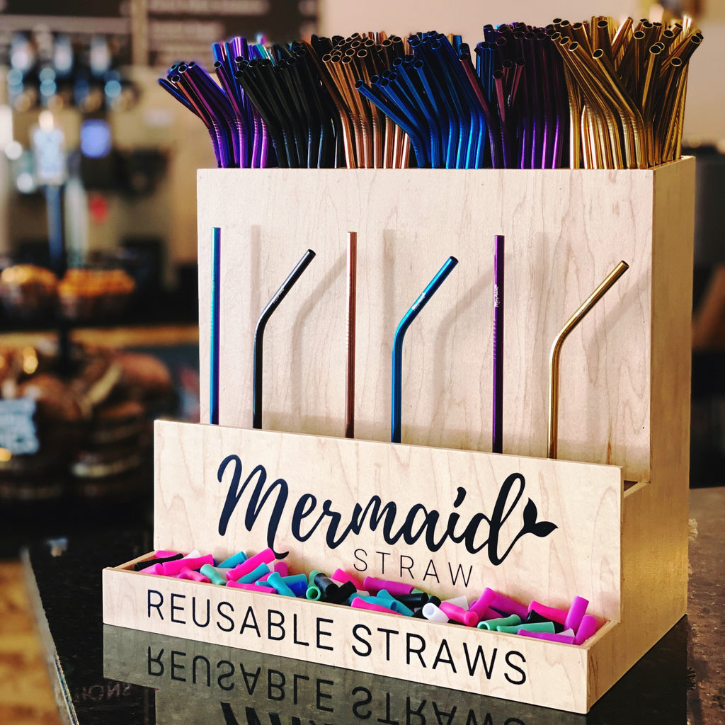 Wholesale Display Package - Large - Mermaid Straw