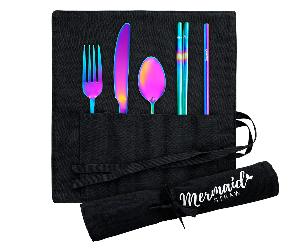 Mermaid Travel Set - Black Wrap