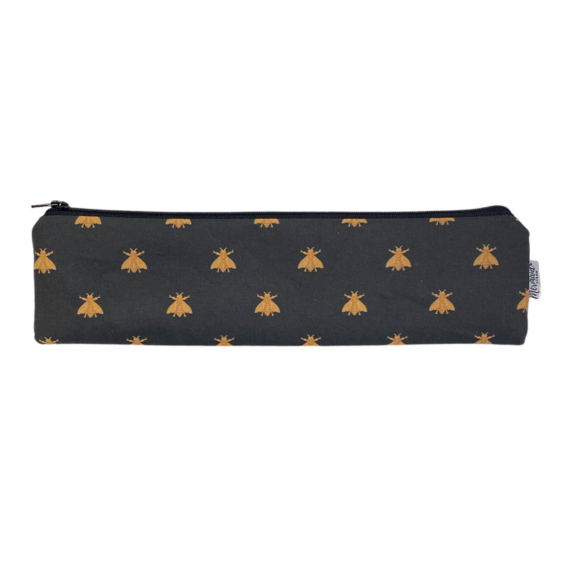 Gilded Bees Zipper Pouch