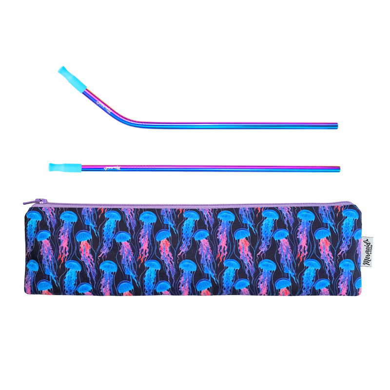 Jellyfish Pack - Mermaid Straw