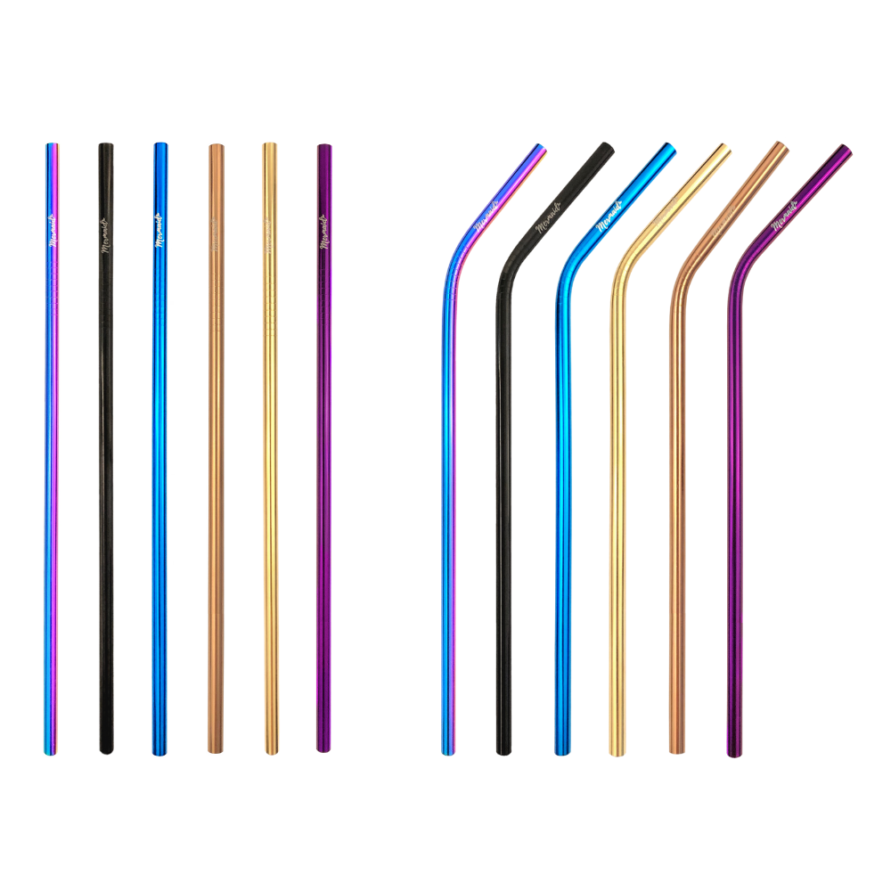 Long Stainless Steel Straws