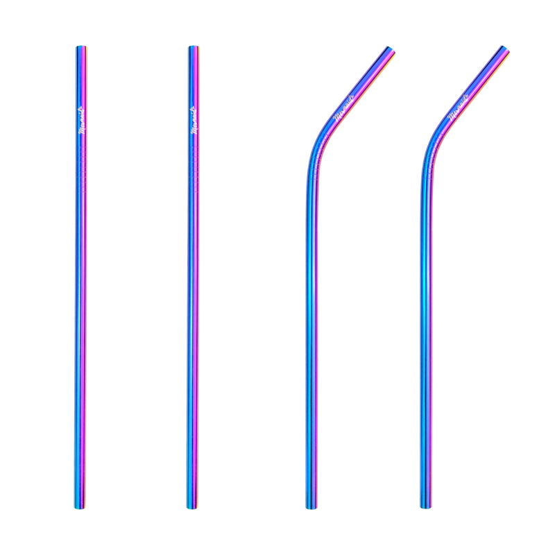 Mermaid Stainless Steel Straws