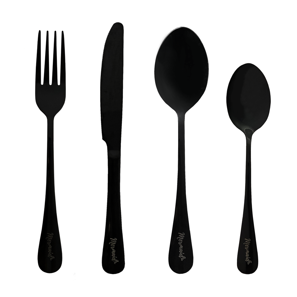 Siren Flatware Pack (4 piece) - Mermaid Straw