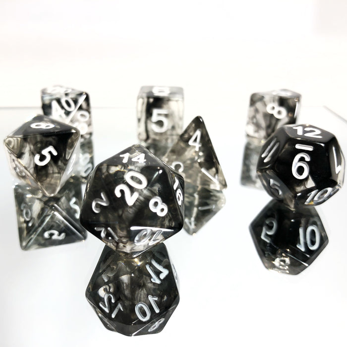 Black Nebula Dice Set