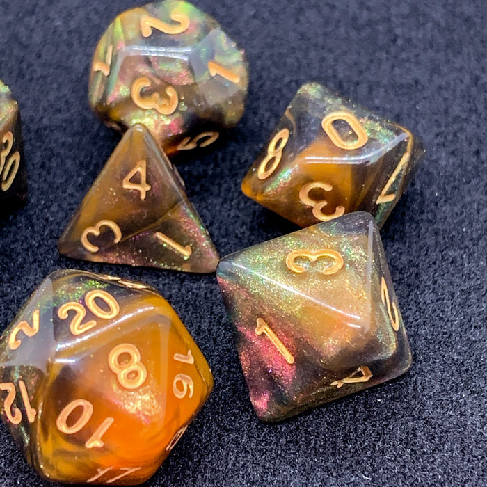 Universe In the Beginning Polyhedral RPG Dice Set
