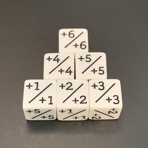 D6 Counter Dice Positive