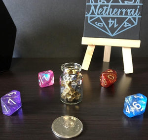 Assorted 5mm Metal Micro Dice