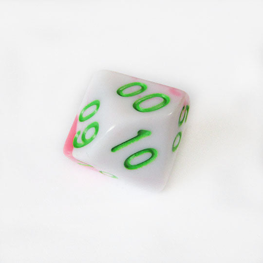 Berry Swirl Dice Bulk Pieces