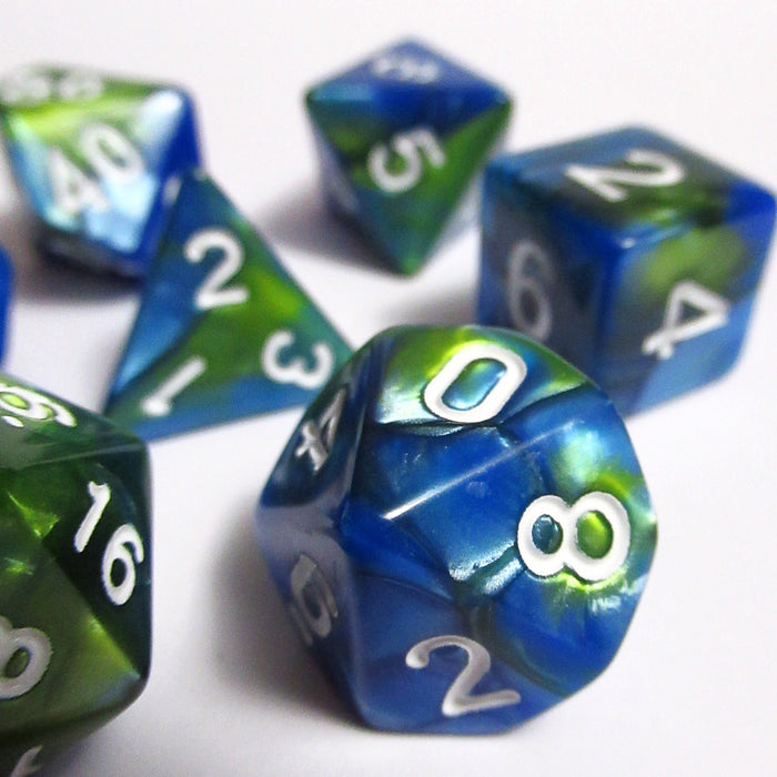 Sea Grass Polyhedral RPG Dice Set