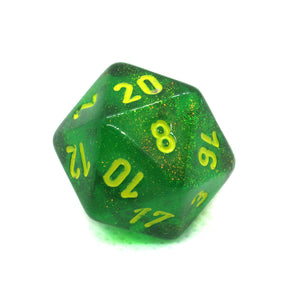 Borealis Maple Green Dice Bulk Pieces