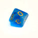 Cloudy Blue d10 Bulk Dice