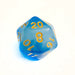 Cloudy Blue d20 Bulk Dice