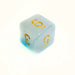Cloudy Blue d6 Bulk Dice