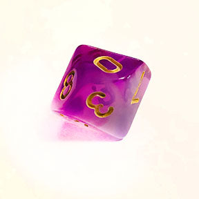 Cloudy Purple d10 Bulk Dice