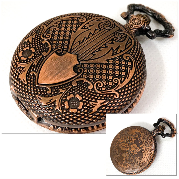 Steampunk Style Pocket Watch Shell