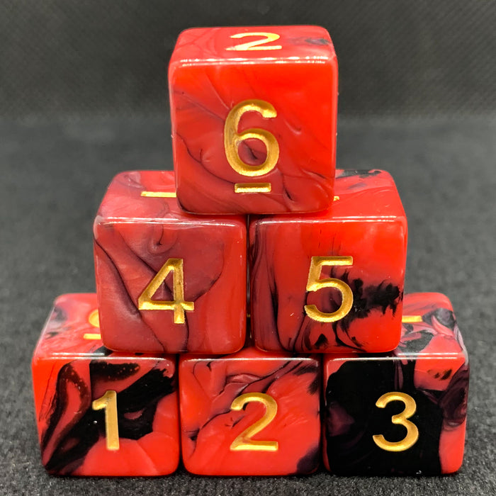 Creeping Darkness D6 Dice Set