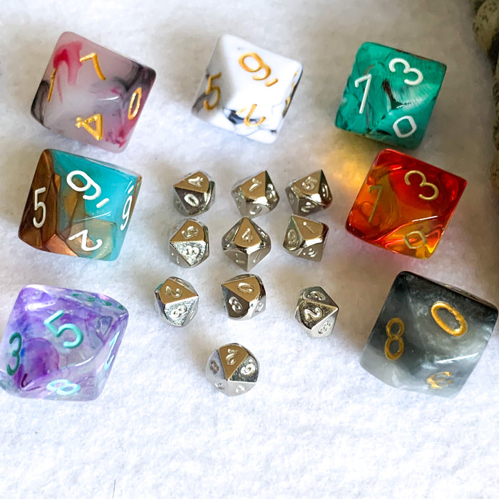 Set of 10 Micro d10 Dice